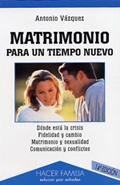Libro Matrimonio para un tiempo nuevo